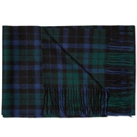 Fred Perry Blackwatch Tartan Scarf Ivy