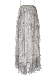 Zimmermann 'Empire Mist' Dress Red