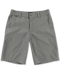 Metal Mulisha Men's Straight Up Classic Fit Shorts Grey Heath