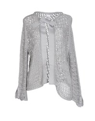 Hope Collection Knitwear Cardigans Women Light Grey
