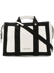 Calvin Klein Rectangular Tote Bag White