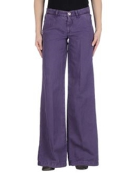 Liu Jeans Casual Pants Purple