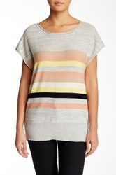 Plenty By Tracy Reese Cutout Back Pullover Gray