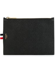 Thom Browne Large Coin Purse Black