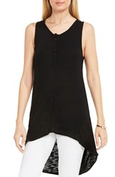 Vince Camuto Women's Two By High Low Tank Rich Black