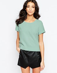 Traffic People Buttons Top With Embellishment Blue