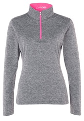 Spyder Cameo Long Sleeved Top Depth Bryte Pink Anthracite