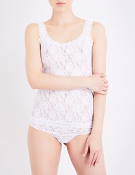 Hanky Panky Signature Stretch Lace Camisole White