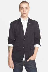 Rag And Bone 'Reserve' Cotton And Linen Sport Coat Blue
