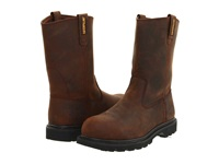 Caterpillar Revolver Steel Toe Dark Brown Men's Work Pull On Boots