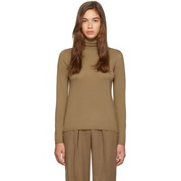 Max Mara Tan Kipur Turtleneck