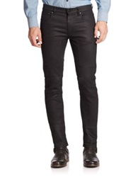 Belstaff Slim Fit Moto Jeans Black