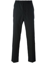 Ami Alexandre Mattiussi Carrot Fit Trousers Black
