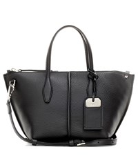 Tod's Joy Mini Leather Shoulder Bag Black
