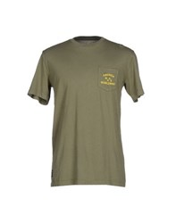 Emerica Topwear T Shirts Men Military Green