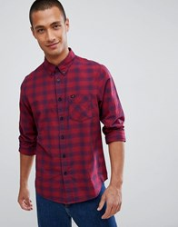 Lee Jeans Checked Shirt Red