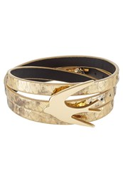Mcq By Alexander Mcqueen Bracelet Burnished Goldcoloured