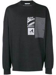 Alyx Graphic Print Sweatshirt Black