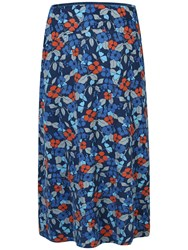 Seasalt Pentire Point Skirt Abloom Night