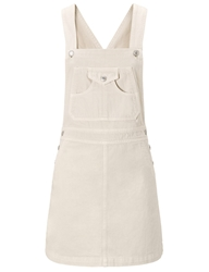Alexa Chung For Ag Sulfur Natural The Gillian Dress Off White
