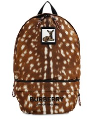 Burberry Interchangeable Belt Bag And Backpack Multicolor