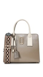 Marc Jacobs Big Shot Satchel French Grey Multi