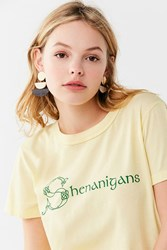 Truly Madly Deeply Shenanigans Tee Yellow