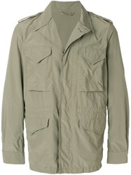 Aspesi Cargo Jacket Green