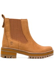 Timberland Ankle Chelsea Boots Brown