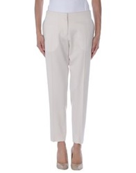 Tara Jarmon Casual Pants Light Grey