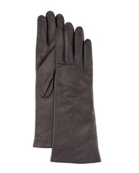 Portolano Napa Leather Gloves Graphite Grey