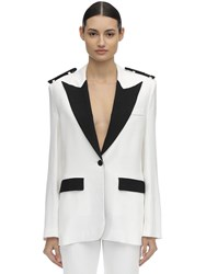 Filles A Papa Marines Tailored Jacket White