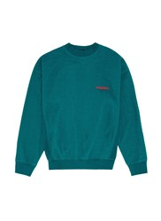 Studio Concrete 'Aerospace' Unisex Sweatshirt Green Blue