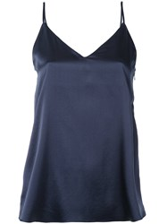 H Beauty And Youth Plain Cami Top Blue