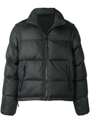 P.A.M. Perks And Mini Pam Zip Off Sleeve Padded Jacket Black