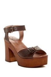Musse And Cloud Nolea Chunky Platform Sandal Brown