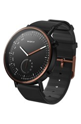 Misfit Command Hybrid Silicone Strap Smart Watch 44Mm