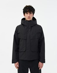 Goldwin Insulation Mountain Parka In Black