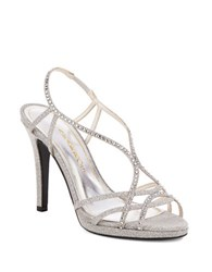 Caparros Sunday Sandals Silver
