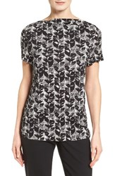 Boss Women's Etila Print Jersey Top
