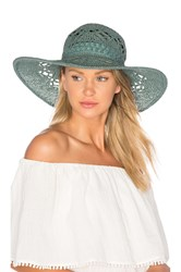 Ale By Alessandra Floresta Hat Teal