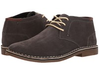 Kenneth Cole Reaction Desert Sun Dark Grey Lace Up Boots Gray