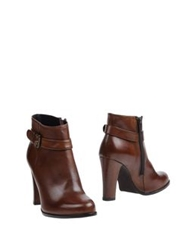 Evado Ankle Boots Camel