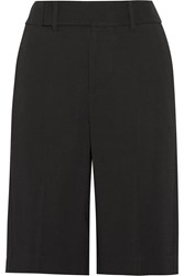 Helmut Lang Stretch Crepe Shorts Black