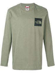 The North Face Loose Fitted Sweater Green
