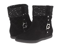 G By Guess Rosso Black Black Silver Women's Shoes