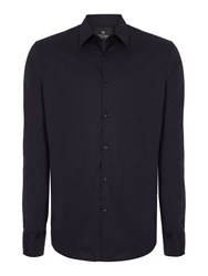 Scotch And Soda Classic Long Sleeve Shirt Midnight