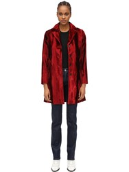 Palto Viscose And Cotton Jacket Red
