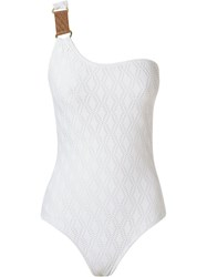 Lygia And Nanny Lace Swimsuit White