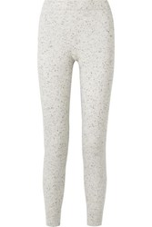 Atm Anthony Thomas Melillo Wool And Cashmere Blend Track Pants Light Gray